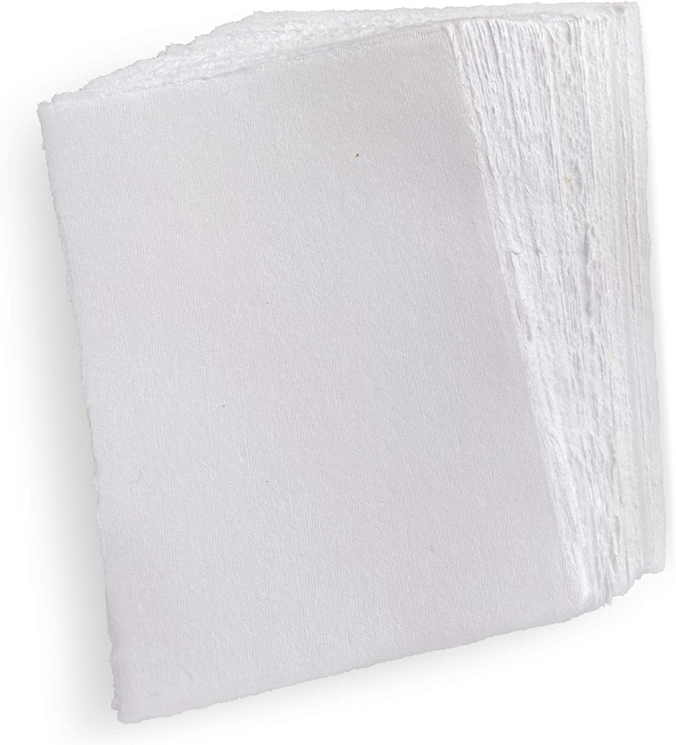 Wanderings Spasm price Handmade White Deckle Edge Free Shipping New Blank A4 Size Pack Paper -