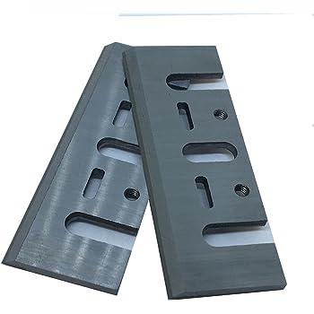 Caja de 2 cuchillas de 8 mm HSS para planchas Makita, Black & Decker, Bosch, DeWalt y Elu: Amazon.es: Bricolaje y herramientas