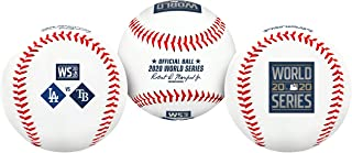 2020 World Series Dueling Souvenir Collectible MLB Replica Baseball by Rawlings - Dodgers vs. Rays