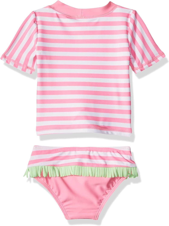 KIKO /& MAX Girls 2 Piece Swimsuit Set with Rashguard Swim Shirt