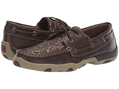 Twisted X WDM0070 (Brown/Embossed Flower) Women
