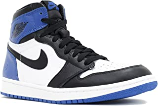 Nike Men's Air Jordan 1 Retro High Og Fragment Design X White Leather Sneaker 9 D(M) US