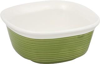 CorningWare Etch 20-Ounce Square Baking Dish, Green
