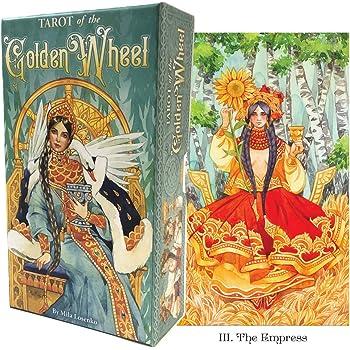 タロットカード 78枚 タロット占い 【 タロット オブ ゴールデン ホイール Tarot of the Golden Wheel 】日本語解説書付き [正規品]