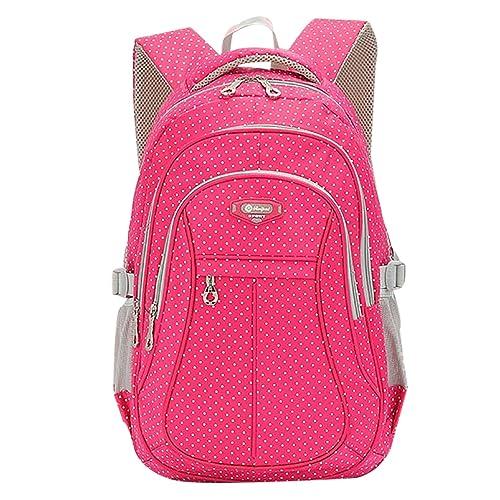 2253f5c6a0 SellerFun174  Kid Child Girl Multipurpose Dot Backpack School Bag (Rose