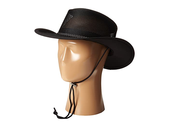 6317a26387c48a Stetson Mesh Covered Safari with Chin Cord at Zappos.com