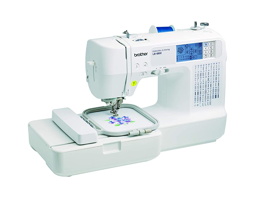 Brother RLB6800 Sewing and Embroidery White