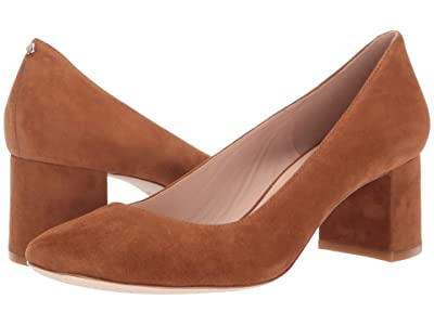 Kate Spade New York Kylah Block Heel Pump (Warm Gingerbread) High Heels