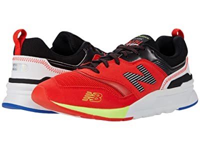 New Balance Classics 997H (Neo Flame/Energy Lime) Men