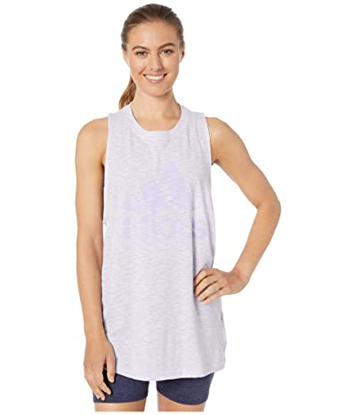 adidas Winners Tank Top (Purple Tint Melange) Women