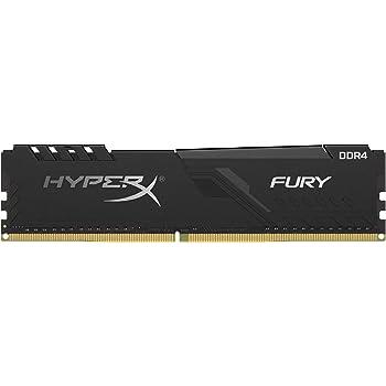 HyperX Fury HX426C16FB3K2/32 DIMM DDR4 CL16, Kit 2x16 GB, 32 GB, 2666 MHz, CL16, Nero