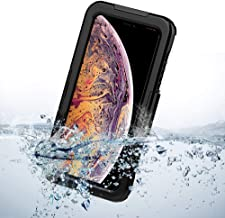 Hard Waterproof case for iPhone Xs Xr X Xsmax ideal for Beach Pool Summer