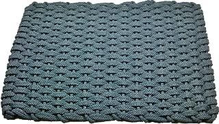Rockport Rope Doormats 241 Indoor and Outdoor Doormats with Insert, 20 by 30-Inch, Light Blue