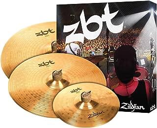 Zildjian ZBT Crash Cymbal Set - 16 Inches 18 Inches Crashes, with Free 10 Inches Splash