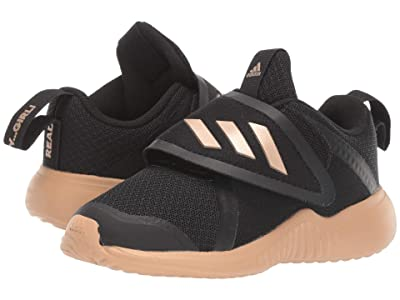 adidas Kids FortaRun X CF (Toddler) (Black/Copper/White) Girls Shoes