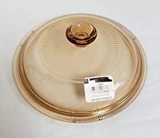 Corning Visions 2.5-Liter Replacement Lids, Amber