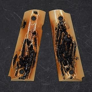 DURAGRIPS - Fullsize 1911 Grips for Colt Kimber Sig STI - Faux STAG