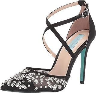 حذاء نسائي SB-Leila أزرق من Betsey Johnson ، أسود ، 6. 5 M US