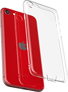 COVERbasics Cover Compatibile con iPhone 7/8/SE 2020 (PROCAM 0.33mm) Custodia Trasparente Fina Sottile Slim in Silicone Ge...