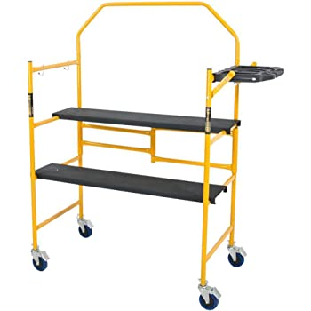 Metaltech I- IMCNT Job Site Series 4-3/4 4 x 2 ft. Scaffold 500 lb. Load Capacity, 4-3/4' x 4' x 2'