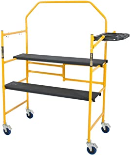Metaltech I- IMCNT Job Site Series 4-3/4 4 x 2 ft. Scaffold 500 lb. Load Capacity, 4-3/4` x 4` x 2`