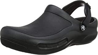 Crocs Unisex's Bistro Pro Clog, Black (Black), 6 Men/ 7 UK Women 39/40 EU
