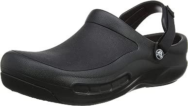 Crocs Men's and Women's Bistro Pro Work Clog Slip Resistant Work Shoe, Great Nursing or Chef Shoe