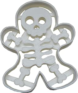 GINGERBREAD SKELETON MAN BODY BONE BONES HALLOWEEN PARTY TREAT SNACK SCARY VOO DOO DOLL HOLIDAY COOKIE CUTTER BAKING TOOL USA PR113