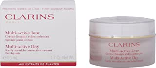 Clarins Multi-Active Day Early Wrinkle Correction Comfort Cream Dry Skin, 1.7ounce