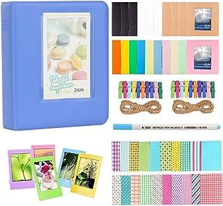 Anter Photo Album Accesorios para Fujifilm Instax Mini Camera, HP Sprocket, Polaroid Zip, Snap, Snap Touch Impresora Films...