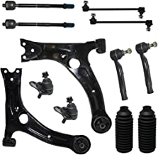 12-Piece Front Suspension Kit - (2) Front Lower Control Arms, (2) Front Lower Ball Joints, (2) Front Sway Bar End Links, All (4) Front Inner & Outer Tie Rod Ends [NOT FOR JAPAN MADE MODELS]