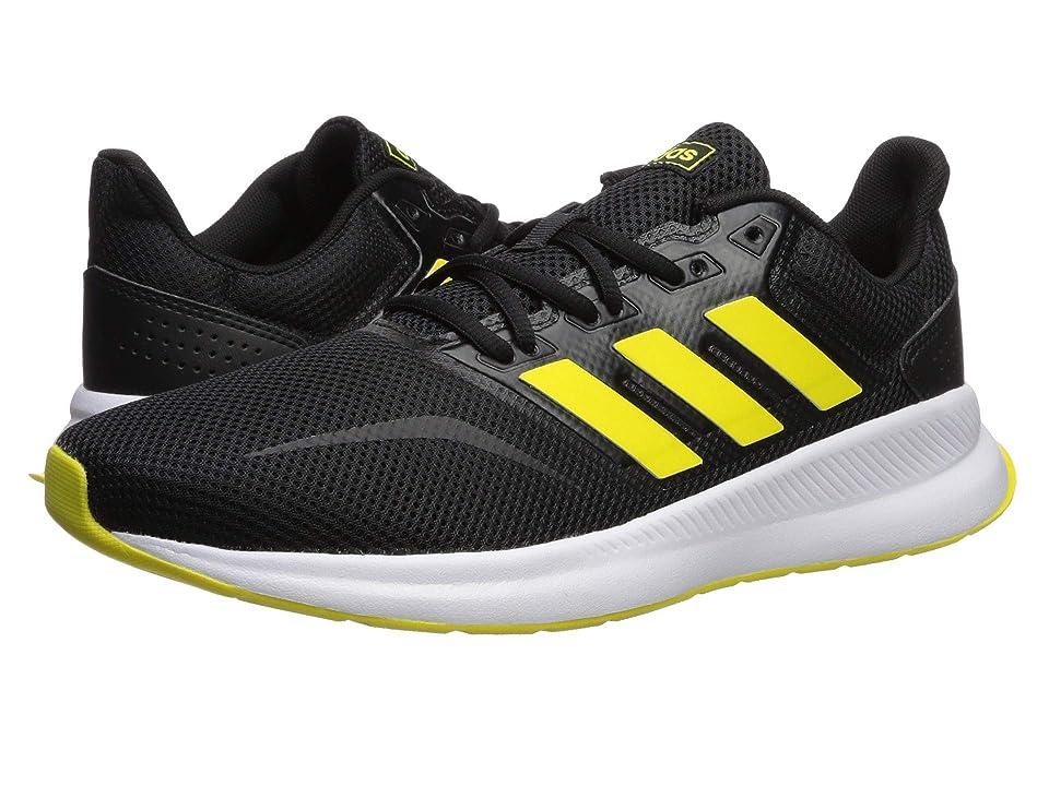 adidas Falcon (Core Black/Shock Yellow/Footwear White) Men
