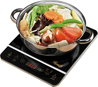 "Rosewill 1800 Watt Induction Cooker Cooktop , Included 10"" 3.5 Qt 18-8 Stainless.."