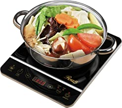 """Rosewill 1800 Watt Induction Cooker Cooktop , Included 10"""" 3.5 Qt 18-8 Stainless.."""