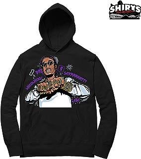 Concord 11 Huncho Rings Hoodie to Match Jordan 11 Concord Sneakers Black t-Shirts