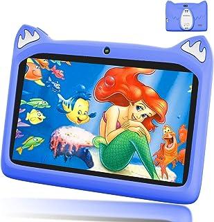 Tablet 7 Pollici con WiFi Offerte, Andriod 9.0 Quad Core 3GB RAM+32 GB ROM, 4000mAh Tablet Bambini 7 Pollici, Dual Cámara,...