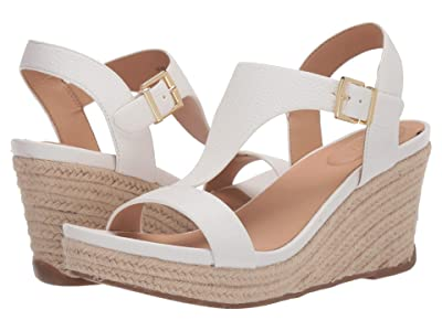 Kenneth Cole Reaction Card Wedge (White) Women