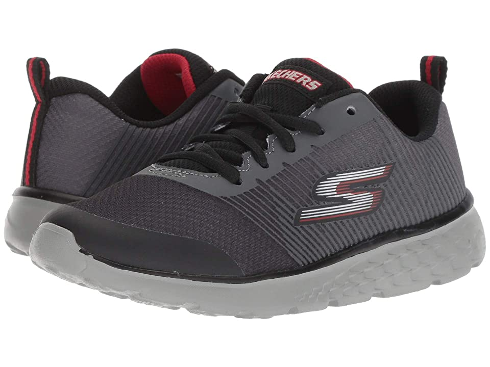 SKECHERS KIDS Go Run 400 (Little Kid/Big Kid) (Charcoal/Black) Boy