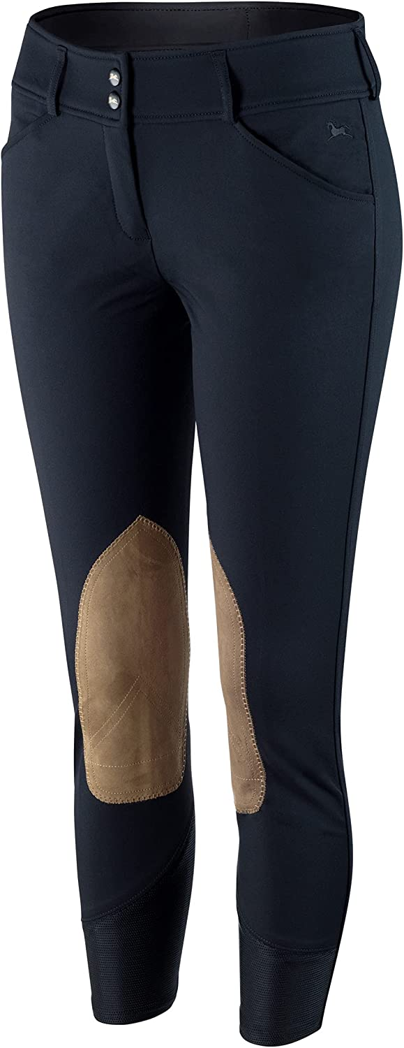 Spring new work R.J. Classics Gulf Natural Rise Fashionable Black Front Breech Zip