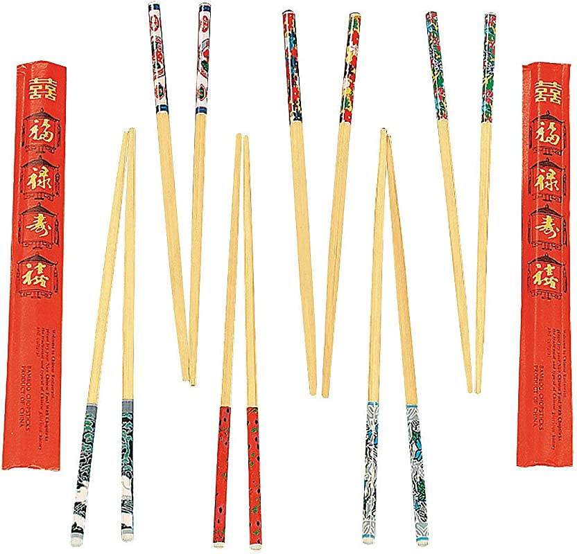 Decorated Chopsticks Party Tableware