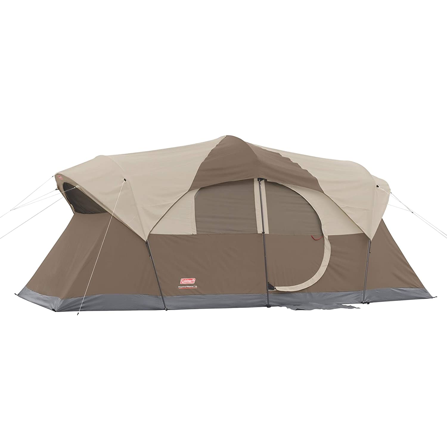 NEW Coleman In a popularity WeatherMaster 10-Person Tent Brown Outdoor
