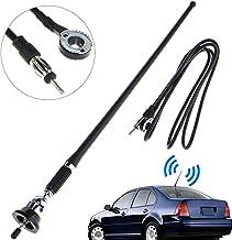 16.9 Inch Car FM AM Radio Antenna, Linkstyle Flexible Mast Radio FM/AM Antenna Universal..