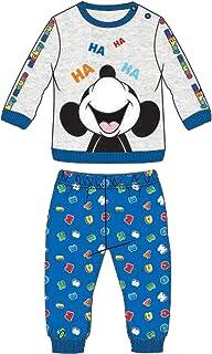 WD101140 Mare Disney Pigiama Neonato Puro Cotone Mezza Manica Paperino Donald Art