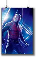 Avengers: Infinity War (2018) Movie Poster Small Prints 183-215 Drax The Destroyer,Wall Art Decor for Dorm Bedroom Living Room (A3|11x17inch|29x42cm)