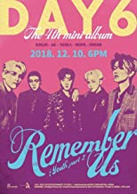DAY6 [REMEMBER US : YOUTH PART 2] 4th Mini Album REW / FF 2 Ver SET+PRE-ORDER+POSTER+2ea Photo Book+2p Clear Card+2ea Decoration Sticker+4p Photo Card+2p Post Card+Tracking Number K-POP SEALED