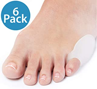 NatraCure Gel Pinky Toe Bunion Guard (Tailor's Bunion) - 1319-M RET6PK - (6 Pack) - (for Pain Relief from Friction, Pressure, and Tailor's Bunions)