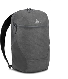 Arcido ARO daypack - compressible folding backpack, lightweight foldable pack for travel
