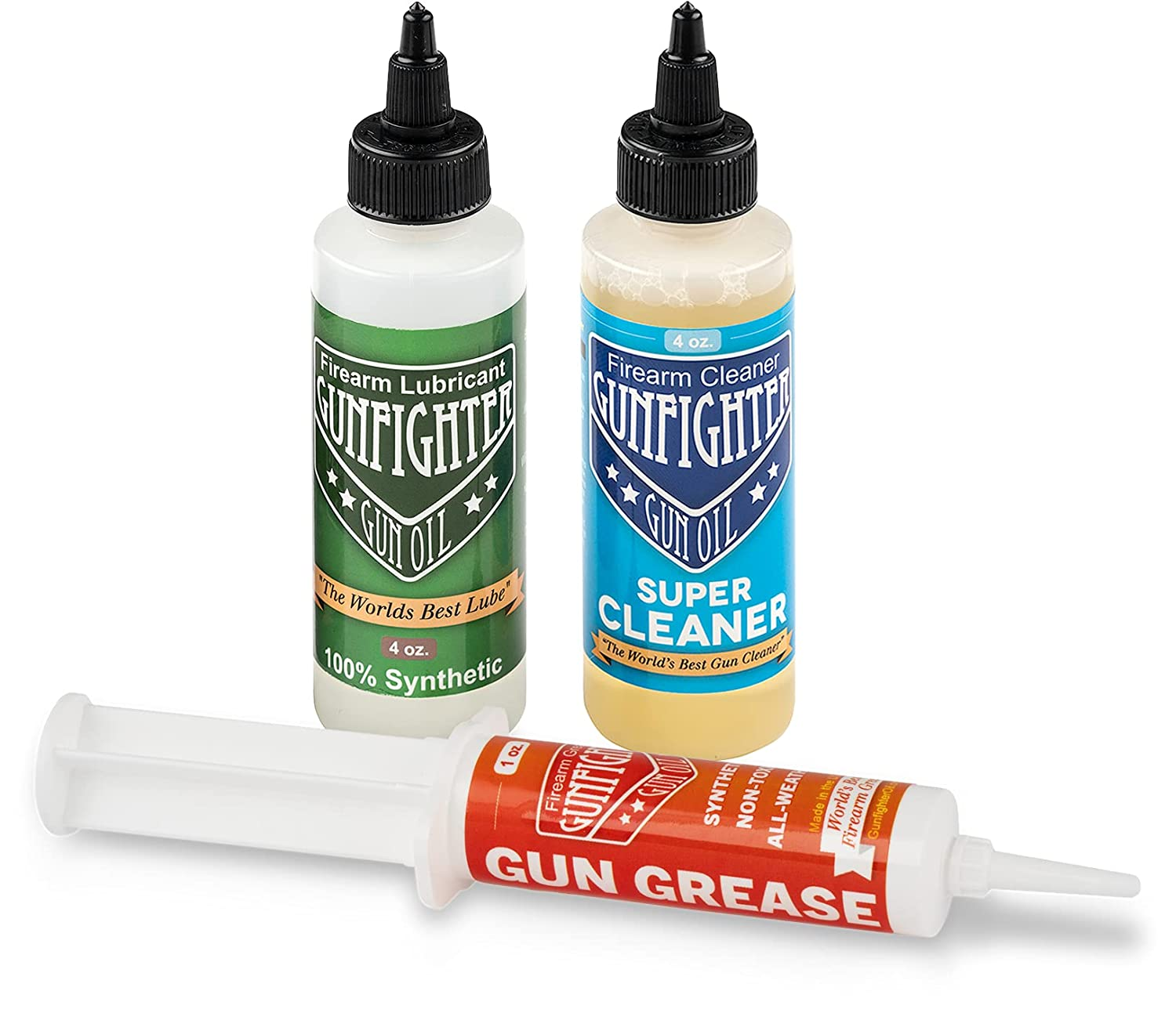 Gunfighter Max 47% OFF Gun Oil All American 1o Cleaner 2021 autumn and winter new 4oz Combo Lube