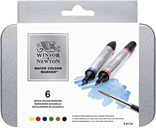 Winsor & Newton Water Color Markers Set of 6 0290002