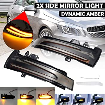 Mercedes Sprinter Wing Mirror Indicator Lens Right Side Fits to 2012 to 2017